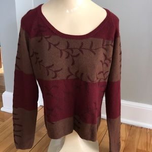 The Territory Ahead cashmere/angora blend sweater